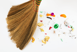 Sweep It: How To Clean Up the Mess that Adds Up Over Time