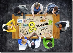 Teamwork Team Together Collaboration Group People Meeting Concept